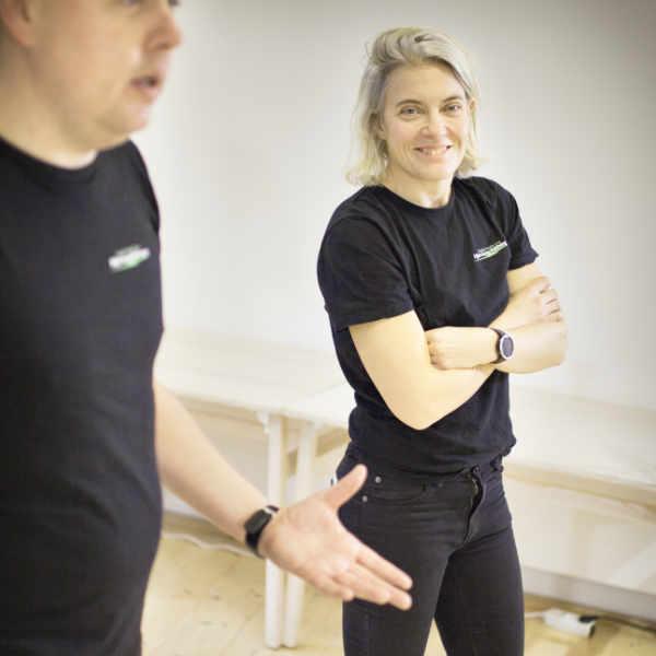 Niki-HLR-instruktör